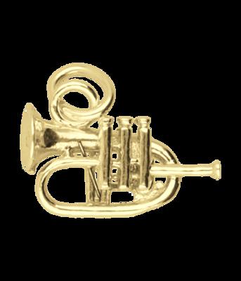 Gouden Bugel ketting hanger