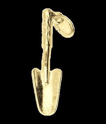 Gouden Tuinschepje kettinghanger