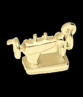 Gouden Naaimachine kettinghanger